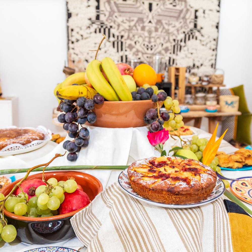 Le petit déjeuner Hotel Ristorante S'Ortale